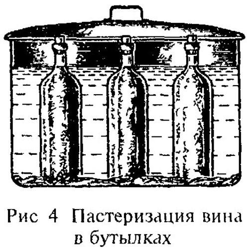 как пастеризовать вино в домашних условиях